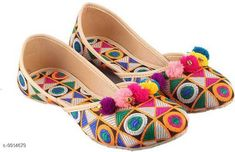 Juttis & Mojaris Latest Fabulous Women Ethnic Jutis & Mojaris Material: Synthetic Sole Material: PVC Fastening & Back Detail: Slip-On Pattern: Colorblocked Multipack: 1 Sizes:  IND-7 IND-6 IND-9 IND-8 IND-5 IND-4 Country of Origin: India Sizes Available: IND-8, IND-9, IND-10, IND-4, IND-5, IND-6, IND-7   Catalog Rating: ★4.1 (2974)  Catalog Name: Latest Graceful Women Jutis & Mojaris CatalogID_1766083 C75-SC1069 Code: 832-9914679-684