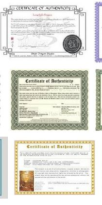 A template for creating a certificate of authenticity free how to make a certificate of authenticity for your artwork yelopaper Gallery