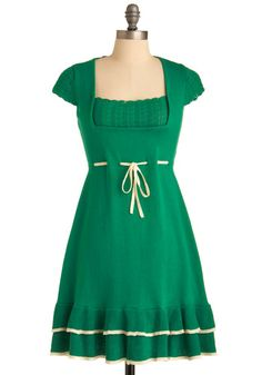 I'm attending weddings and dinner rehearsals in the future. I want to be wearing this dress. Modcloth.