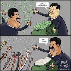 Para: Venezuela, De: China