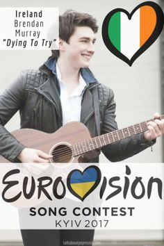 """Eurovision Song Contest Ireland – """"Dying To Try"""" By Brendan Murray Eurovision 2017, Danisnotonfire, Amazingphil, Pop Music, Croatia, All About Time, Blogging, Europe, Pop"""