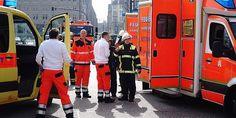 Am Donnerstagvormittag hat ein Mann im Bereich des U-Bahnhofs Jungfernstieg eine Frau und ein Kind mit einem Messer verletzt