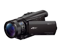"4K Camcorder with 1"" sensor - FDRAX100/B Review - Sony US"