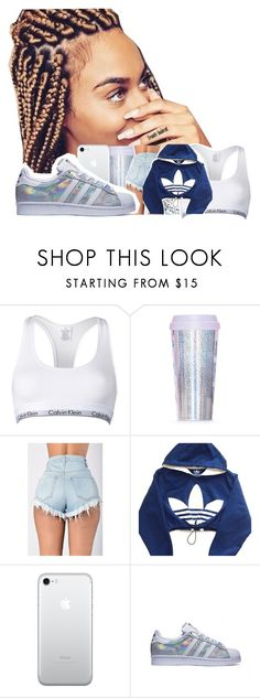 """"""""""" by cali-philly ❤ liked on Polyvore featuring Calvin Klein, Miss Selfridge and adidas"""
