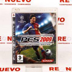 #Videojuego #pes2009 para #PS3 E270651 de segunda mano | Tienda online de segunda mano en Barcelona Re-Nuevo #segundamano