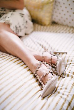 one day… #valentino, #valentino-shoes    Read More: http://www.stylemepretty.com/living/2014/01/06/behind-the-blog-with-glitter-guide/