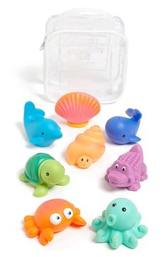 Free shipping and returns on Elegant Baby Squirtie Bath Set at Nordstrom.com. Soft plastic squirt toys are perfect for the tub or wading pool.