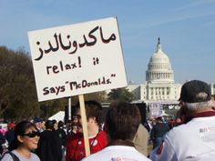 5-Racial-Discrimination-Protest-1024x768 38 Of The Funniest And Hilarious Protest Signs Ever