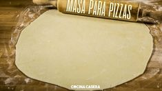 Masa de Pizza casera Pizza Fina, Side Dishes, Food And Drink, Dairy, Pasta, Cheese, Cooking, Skype, Evernote