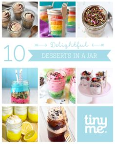 10 Delightful Desserts in a Jar ~ Tinyme