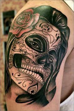 Tattoo of the Day is by Esteban who works out of the Silver Needle Tattoo shop in Madrid.