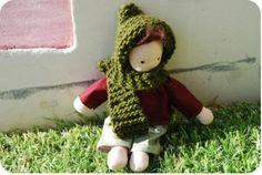 finished waldorf doll
