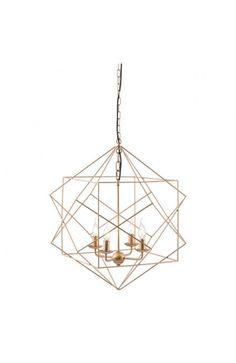 56022 - Penta Ceiling Lamp Gold