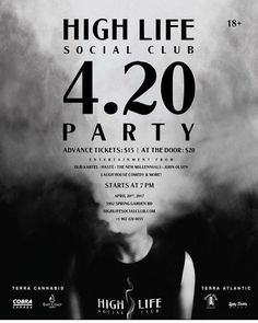TODAY at @highlifesocialclub  So cannabis is still under prohibition... NEVER STOPPED ME BEFORE! So you can't legally smoke it for fun... NEVER STOPPED ME BEFORE! So you can still be charged for owning a plant... NEVER STOPPED ME BEFORE! . And it's not going to stop us from celebrating the most amazing plant to ever sprout from a seed this 4/20! High Life Social Club is throwing another 4/20 prohibition party this year to show the canna-haters that nothing can stop us from loving cannabis…