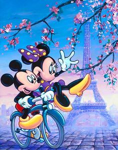 Mickey & Minnie in gay Paris tjn
