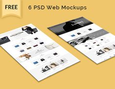 "Check out new work on my @Behance portfolio: ""free 6 psd web mockup"" http://be.net/gallery/33367999/free-6-psd-web-mockup"