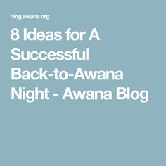 Awana theme song lyrics