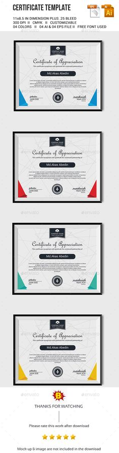 Simple Multipurpose Certificates Certificate design, Brochures - certificate designs templates