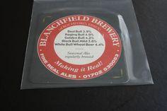 2004 Beermat Blanchfield Brewery Cat 002 (1N03) 7/14