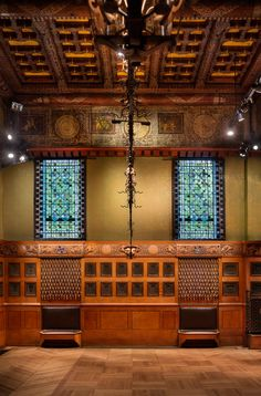 Herzog & de Meuron has completed the restoration of a 19th-century room at the Park Avenue Armory
