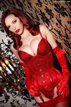 Emily Marilyn all red … :) More at www.emilymarilyn.com