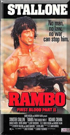 John Rambo is released from prison by the government for a top-secret covert mission to the last place on Earth he'd want to return - the jungles of Vietnam.  Only $6.49 with Free Shipping!