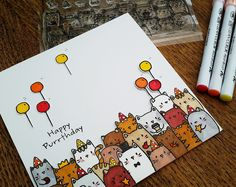 Janey's Cards: Mama Elephant - The Cat's Meow