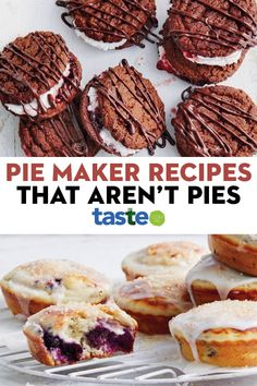 Mini Pie Recipes, Puff Pastry Recipes, Quiche Recipes, Tart Recipes, Raw Food Recipes, Sweet Recipes, Dessert Recipes, Cooking Recipes, Desserts
