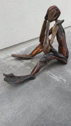 'Contemplation' $140 NZ Dollars New Zealand native driftwood