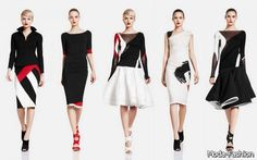 Frills and Thrills: Donna Karan Resort 2012 Dyt Type 4 Clothes, Winter Parties, Saturated Color, Donna Karan, Skinny Legs, Warm Weather, Ballet Skirt, My Style, Party Dresses