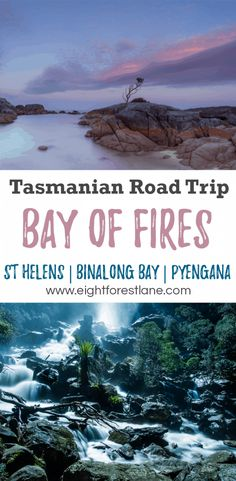 Bay of Fires, Binalong Bay & St Helens - Tasmania Road Trip Itinerary Brisbane, Melbourne, Perth, Tasmania Road Trip, Tasmania Travel, Places To Travel, Travel Destinations, Places To Visit, Cairns
