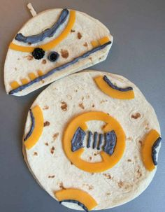 BB-8 Droid Quesadillas
