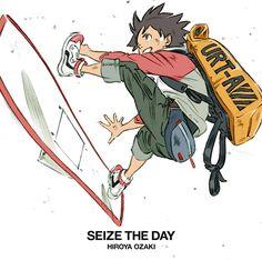 Amazon | 【Amazon.co.jp限定】SEIZE THE DAY (初回生産限定盤)(CD+DVD) (クリアファイルA5サイズ(初回盤ジャケット描き下ろしイラスト絵柄)付) | 尾崎裕哉 | J-POP | 音楽 通販