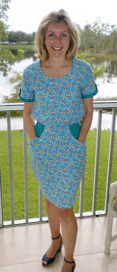 Claire's Bettine dress - sewing pattern by Tilly and the Buttons