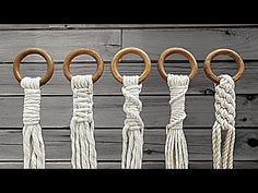Macrame Plant Hanger Patterns, Macrame Wall Hanging Diy, Macrame Plant Holder, Macrame Art, Macrame Projects, Macrame Patterns, Macrame Design, Decoration, Loom Bracelets