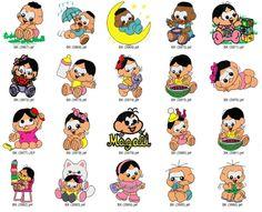 Coleção De Bordados Turma Da Monica - Gratis Baby Monica - R$ 9,99 no MercadoLivre