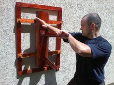 Wooden Dummy Round Body   Flickr - martial arts gear