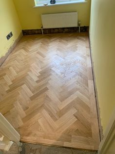 Trade Flooring BP Oak Lacquered wood installation