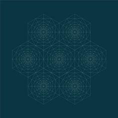 pólvora em bits: Padrões geométricos com splines - 6