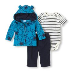 A 'beary' comfy set for baby's casual days! #bigbabybasketsweeps