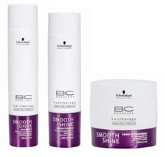 Schwarzkopf BC Bonacure Hairtherapy Smooth Shine Beauty Set, 3 pc by Schwarzkopf. $47.30. Made In Germany. 1 Butter Treatment, 6.8 oz. 1 Shampoo, 8.5 oz. 1 Conditioner, 6.8 oz. BC Smooth Shine offers a complete range of care products to create and revive all looks. By incorporating the new innovative IPS COMPLEX and AMINO CELL REBUILD technology, for the first time there is a complete range, keeping hair not only caressably soft with an illuminating shine but als...