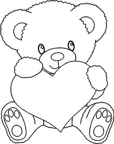 Teddy Bear Coloring Pages . 30 Teddy Bear Coloring Pages . Lovely Cute Baby Polar Bear Coloring Pages – Qulu Polar Bear Coloring Page, Heart Coloring Pages, Cute Coloring Pages, Cartoon Coloring Pages, Disney Coloring Pages, Animal Coloring Pages, Coloring Pages To Print, Free Printable Coloring Pages, Coloring Books