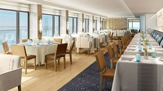 The Restaurant on Viking Star  #vikingcruises #vikingstar