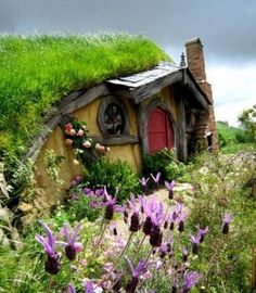 hobbit house in the hill