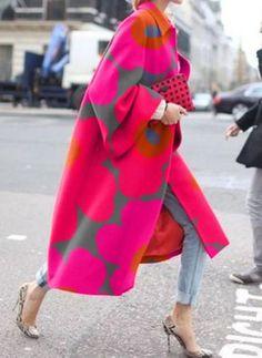 Yellow Floral-Print Shift Holiday Lapel Outerwear - - Source by maelijet Mode Outfits, Fashion Outfits, Womens Fashion, Fashion Hair, Fashion Tips, Hijab Fashion, Fashion Ideas, Estilo Hippy, Plus Size Winter