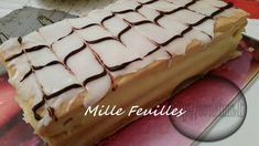 Mille Feuilles ( Thermomix ) Dessert Thermomix, Thermomix Bread, Caramel Shortbread, Bread Cake, Nutella, Food To Make, Biscuits, Deserts, Brunch