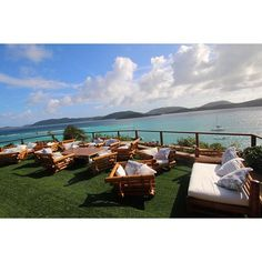 The amazing view from the Great House at RIchard Branson's Necker Island. Read about our experience at Necker Island !