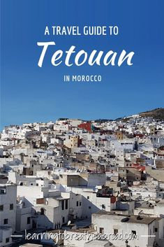 Our Moroccan adventure begins with our first full day spent navigating the medina of Tetouan, eating tagines and exploring beautiful riads. Travel Advice, Travel Guides, Travel Tips, Wanderlust Travel, Us Travel, Hawaii Travel, Italy Travel, Africa Travel, Morocco Travel