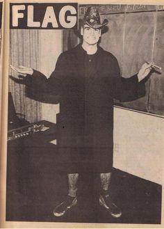Black Flag: Henry Rollins, Flipside Magazine 1981