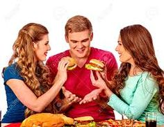 Afbeeldingsresultaat voor fast food people